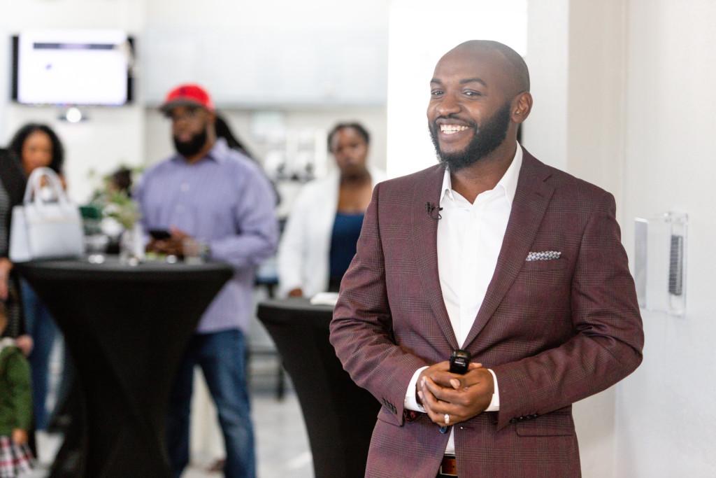 Black African American Speaker